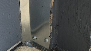 Garage Door Shields - Mice, rat and chipmunk blockers