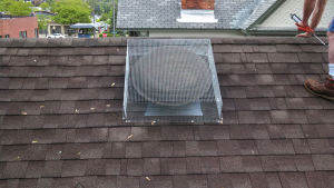 Attic Fan Screening